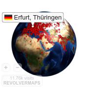 Widget Gallery | RevolverMaps - Free 3D Visitor Maps